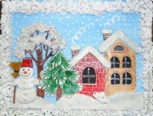 """Поделки к Новому году своими руками для детского сада на тему """"зима"""""""