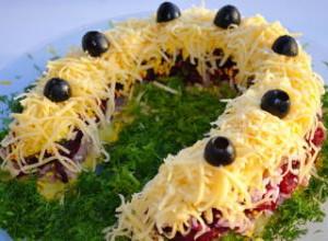 Вкусные салаты на Новый год 2017: рецепты с фото новые