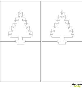 шаблоны киригами