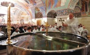 Купели на Крещение в Москве 2016
