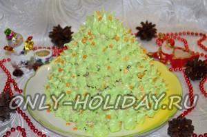 """Торт """"Елочка"""" на Новый год"""