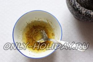 приготовить соус для заправки винегрета