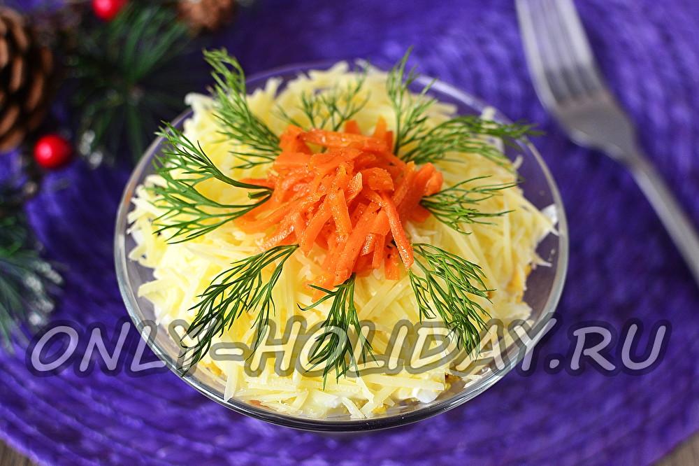 салат на новый год правильное питание