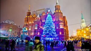 Где погулять в Москве на новогодние праздники