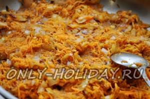 запрвка для картофеля из лука и моркови