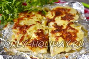 Картофельная запеканка с фаршем в духовке: рецепт с фото пошагово