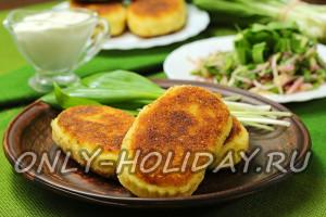 Картофельные зразы с грибами: пошаговый рецепт с фото