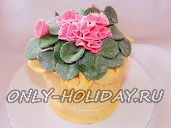 рецепт торт медовая фиалка