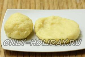 Подготовить порцию картофельного пюре для зраз