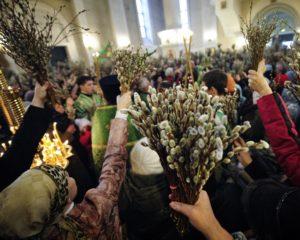Когда освящают вербу в субботу или воскресенье