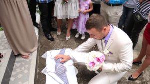 Выкуп невесты: сценарий смешной 2016