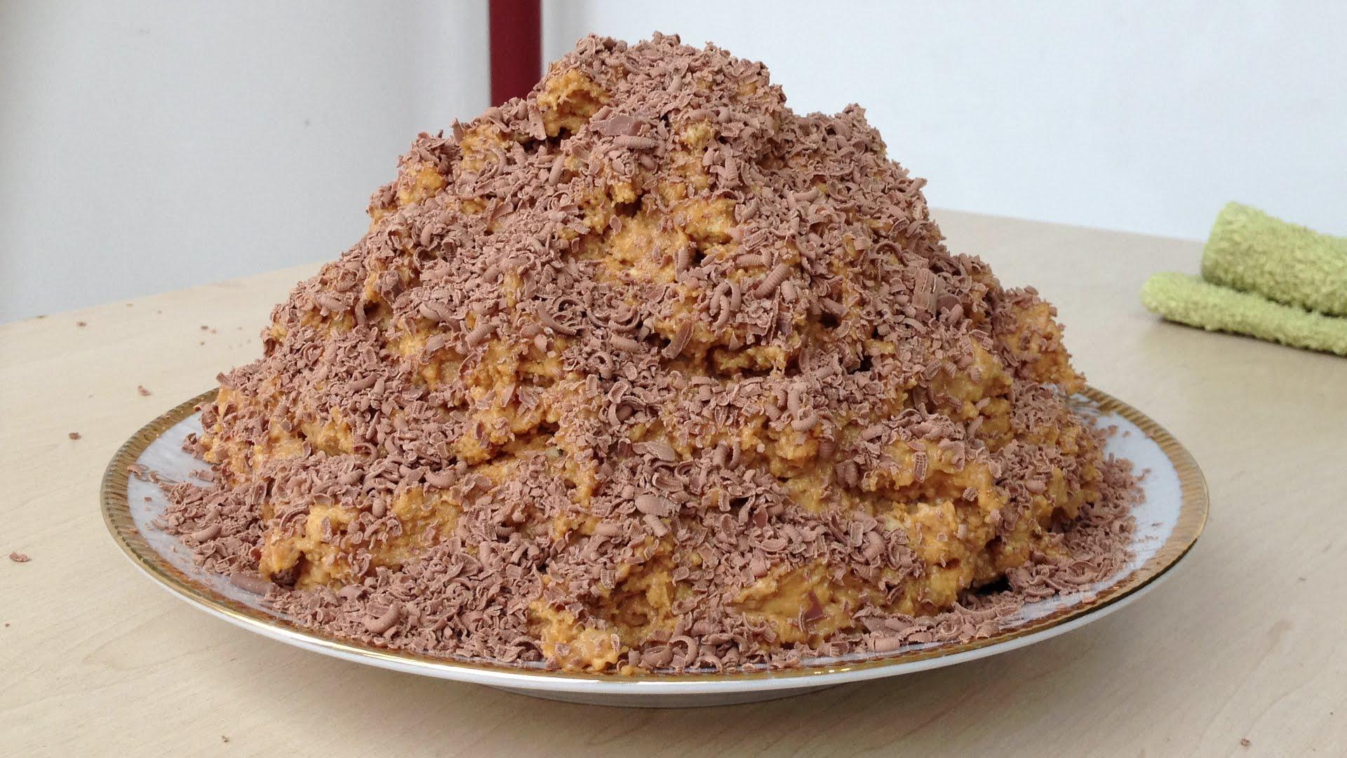 Торт муравейник печенье рецепт пошагово классический