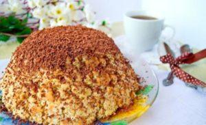 Торт «Муравейник»: рецепт с фото пошагово классический