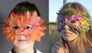 Осенняя поделка своими руками из природного материала в школу