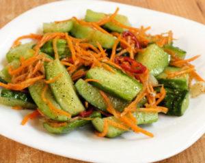 Огурцы по-корейски: самый вкусный