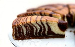"""Торт """"Зебра"""", рецепт с фото"""