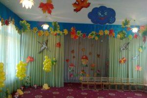Как украсить группу в детском саду своими руками