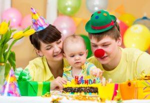 детский праздник день рождения дома
