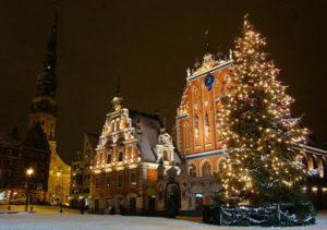 Где встретить Новый год недорого в России