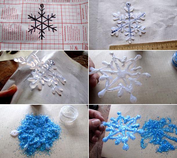 Снежинки своими руками на окна видео 53