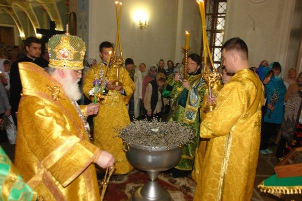 Благовещение и Вербное воскресенье в 2017 году