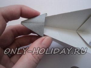 образовался серый треугольник