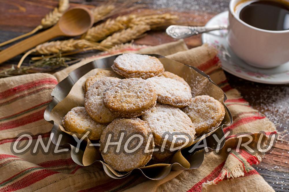 печенье с крахмалом