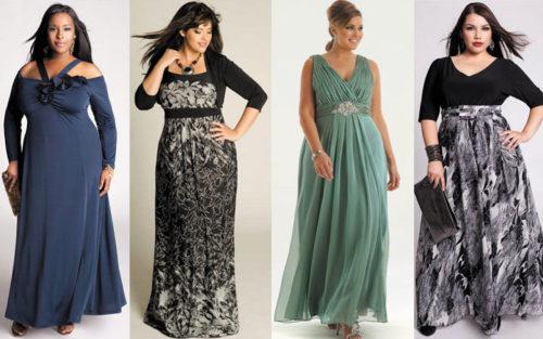 Мода для полных женщин 2014