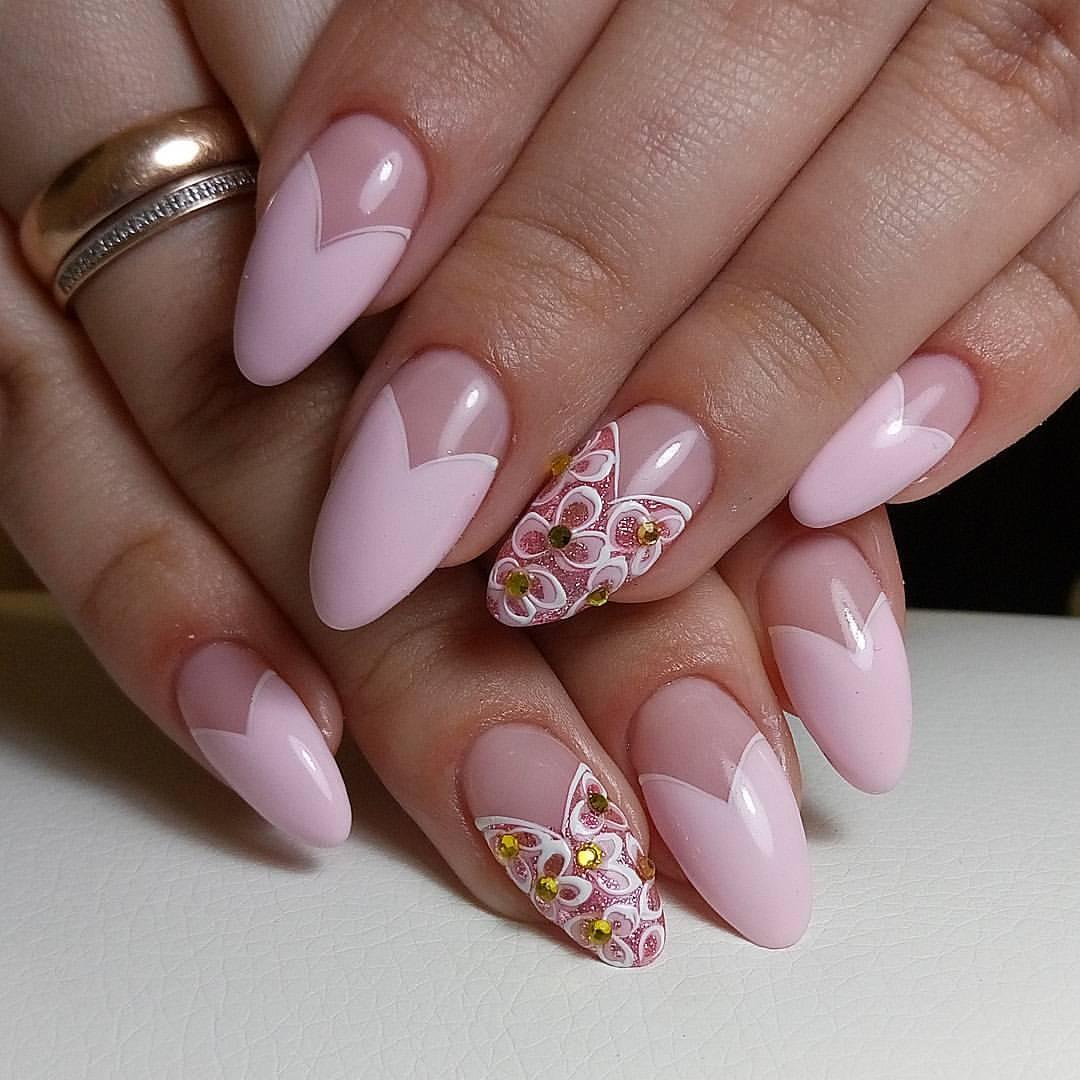 Ногти Френч 25 Модные Идеи — Дизайн Ногтей Фото